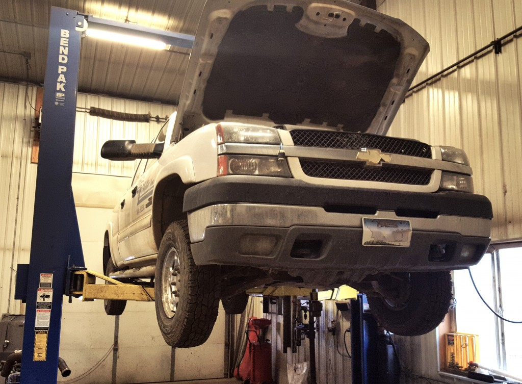 car lift, auto repair, mechanic, duanes radiator, automotive repair